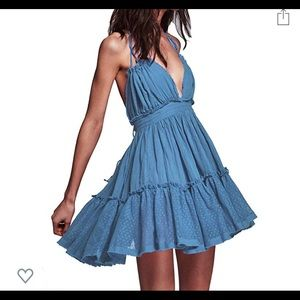 Mini Boho halter dress